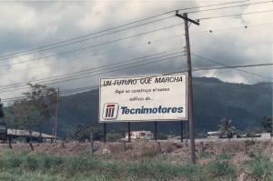 Construccion de Tecnimotores 1989